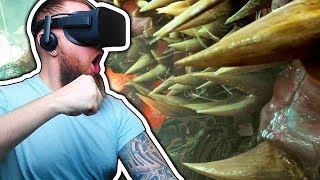 Fighting THE KRAKEN In VIRTUAL REALITY! Syrens ( ENDING)