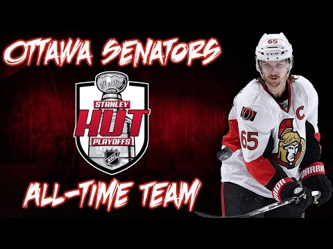 NHL 17 - Stanley HUT Playoffs - All Time Ottawa Senators Team Build