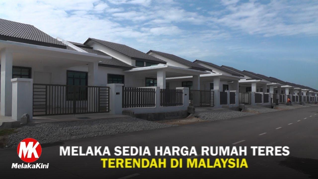 Melaka Sedia Harga Rumah Teres Terendah Di Malaysia Melakakini