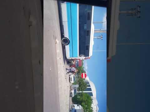 minibüs şoförü sopayla saldırdı