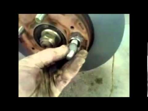 Car Brake Pads >> How to replace front brake pads Mitsubishi Outlander √ - YouTube