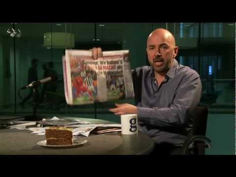 James Richardson's European football papers review (05 April 2013)