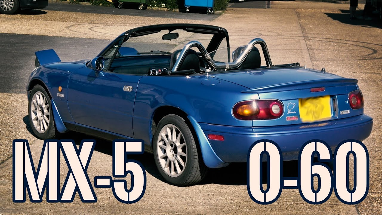 Mazda Mx5 1993 Na 1 8l Twin Cam How Fast 0 60 Miata Review Youtube