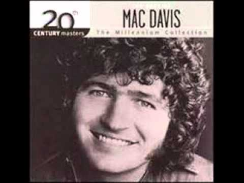 Mac Davis  Baby Don't Get Hooked On Me