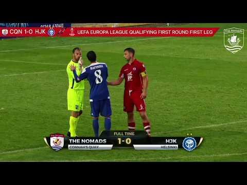 The Nomads 1 0 HJK Helsinki - UEFA Europa League First Qualifying Round - 2017/18