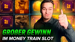 Super Online Casino Gewinne im MONEY TRAIN SLOT! Zwei Bonus in Folge! BIG WINS
