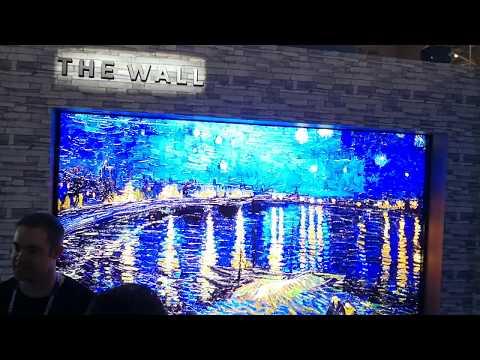 Samsung The Wall modular Television at 146 inches