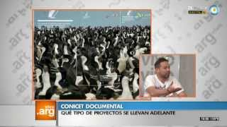 "Vivo en Arg - CONICET Documental: ""Viajeros"" - 12-12-13"