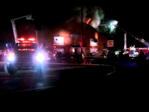 Benld Coliseum fire: part 1