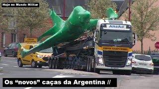 """Os """"novos"""" caças da Argentina"""