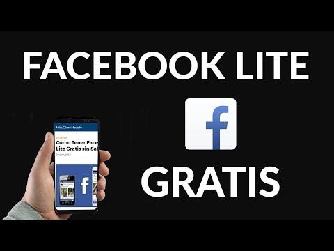 Cómo Tener Facebook Lite Gratis sin Saldo