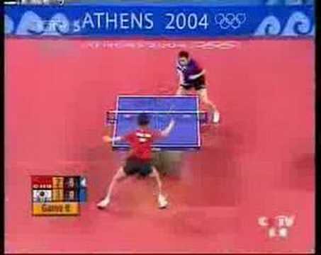 2004 Olympics Final Wang Hao - Ryu Seung Min pt 5/5