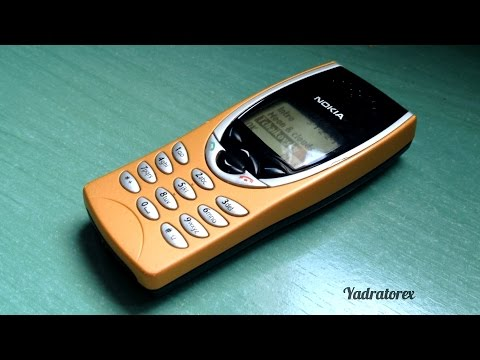 Nokia 8210 retro review (old ringtones, games...)