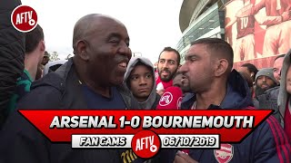 Arsenal 1-0 Bournemouth | If We Don't Get Top 4 & A Trophy Emery Must Go!