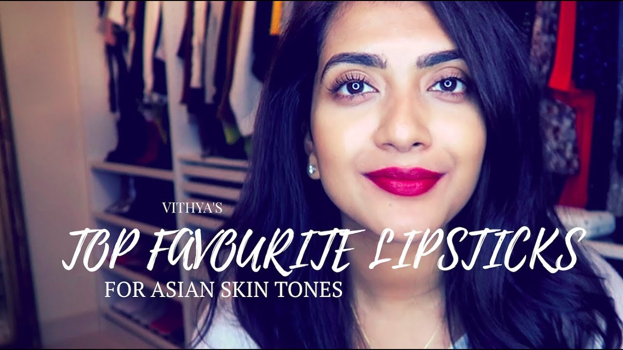 Top Favourite MAC Lipsticks | Indian/Asian/Tan/Olive Skin Tones | Vithya Hair and Makeup Artist