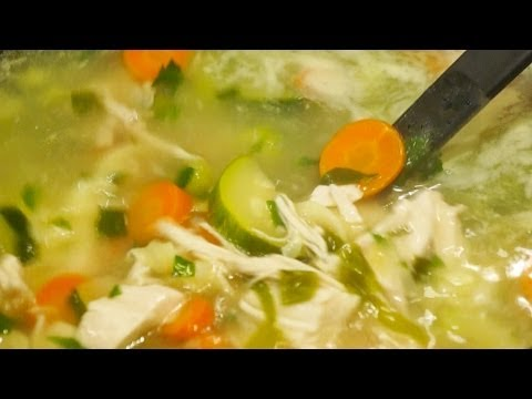 How to Make Delicious Homemade Chicken Noodle Vegetable Soup