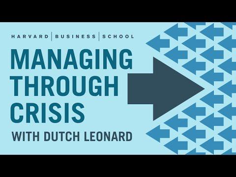 Managing Through Crisis: What Is Crisis Management?