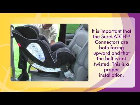 Car Seats: Evenflo Symphony65™ Rear Facing SureLATCH
