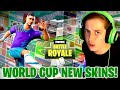 NEW WORLD CUP SKINS EPIC GAMEPLAY! (Lots Of Nice Kills)
