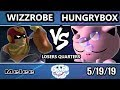 Goml 2019 Ssbm - Liquid | Hungrybox Jigglypuff Vs Wizzrobe Falcon Smash Melee Tournament Lq