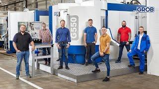 GROB Product Stories – Express production of spare parts | Expressfertigung von Ersatzteilen