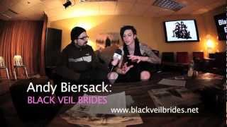 EXCLUSIVE Interview With Andy Biersack From BLACK VEIL BRIDES At Private Listening Party!