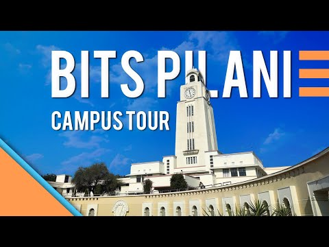 BITS Pilani - Pilani Campus | Campus Tour | Detailed | 2020