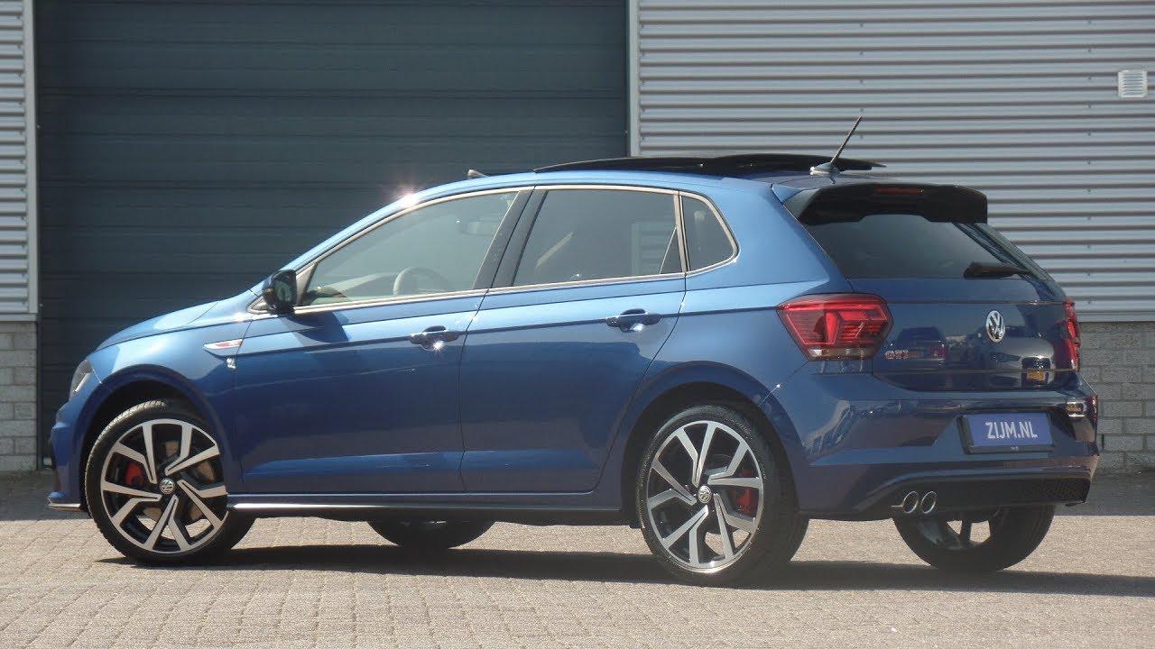 Volkswagen NEW Polo GTI 2019 Reef Blue Metallic 18 inch ...