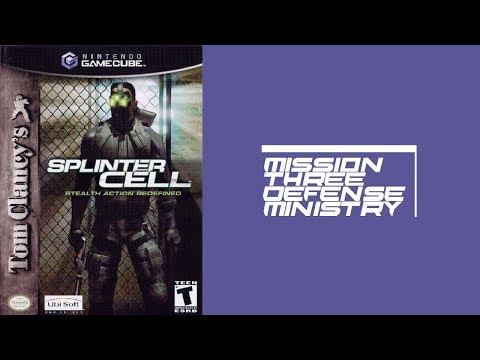 Splinter Cell: Mission 3-Defense Ministry (Gamecube) (Widescreen) (60fps)