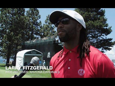 Wide Receiver Larry Fitzgerald Talks Retirement