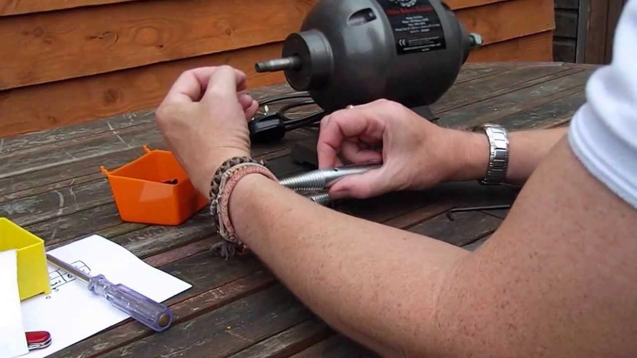 Buffer Conversion Of A Bench Grinder