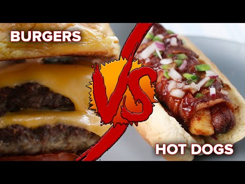 Download Youtube: Burgers Vs. Hot Dogs