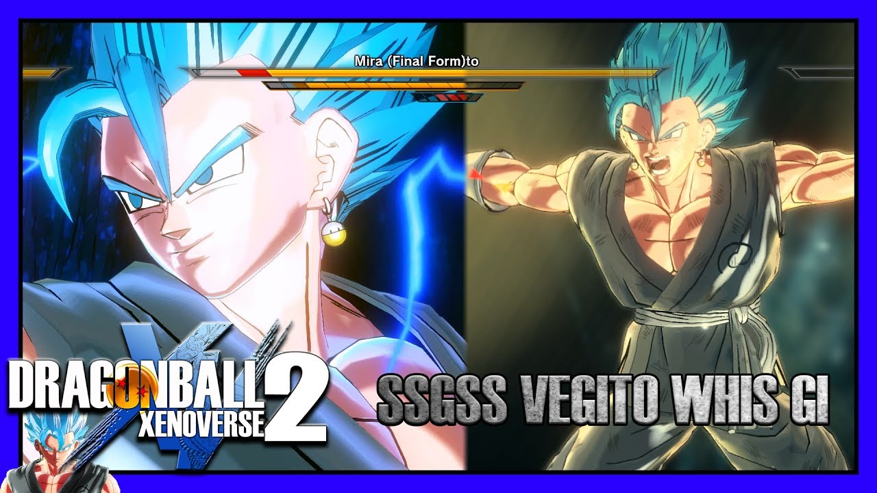 Ssgss Vegito Whis Gi Xenoverse 2 Character Mods Youtube