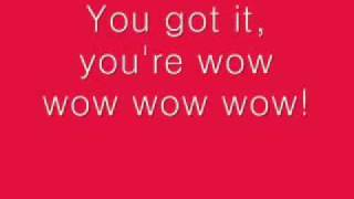 KYLIE MINOGUE LYRICS for Wow (onscreen text)