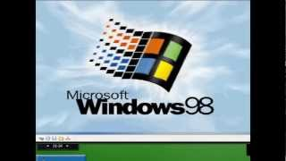 [Speed video]Upgrading Windows 98 First Edition to Windows 98 Second Edition