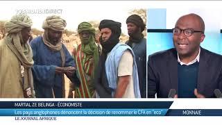 Éco : les pays anglophones dénoncent la décision de renommer le Franc CFA