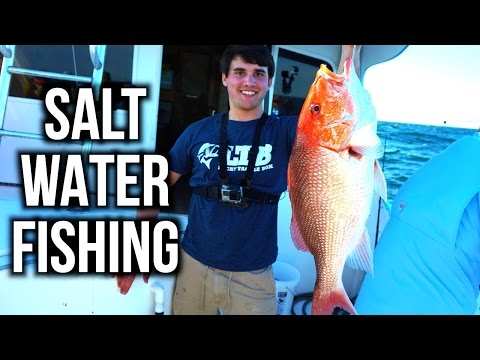 FLAIR GOES SALT WATER FISHING??? - VLOG
