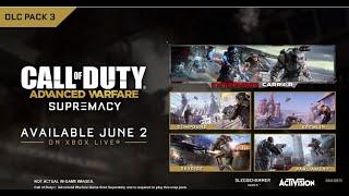 Advanced Warfare: Nuevo DLC, mapa de MW2 y mapa de zombies