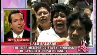 PACO STANLEY: EL DIA QUE MURIO (1/2)
