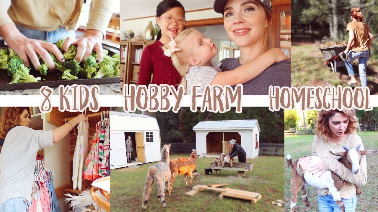 How Do We Manage 8 KIDS, HOMESCHOOL, A HOBBY FARM, WORK + MORE?!?! // Family First Philosophy