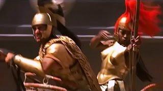 Битва колесниц, фильм  Гладиатор, 2000 г., Рассел Кроу