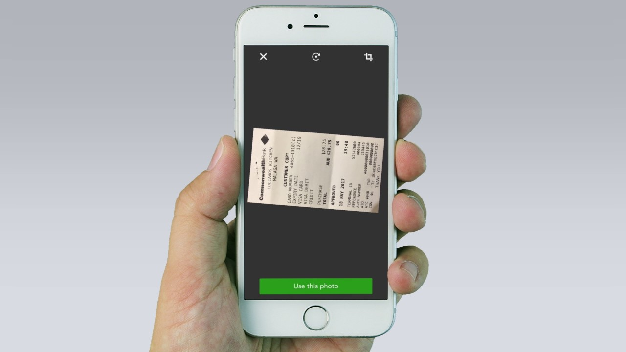 How to Snap & Store Receipts w/ The QuickBooks Self-Employed App on Your  Mobile | AUS