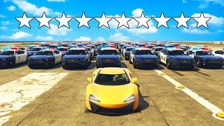 CAN YOU ESCAPE 10 STAR WANTED LEVEL in GTA 5? GTA 5 Online Roleplay