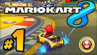 Mario Kart 8 GAMEPLAY - Part #1 w/ Ali-A! - Mushroom Cup 150cc (MK8 Wii U)