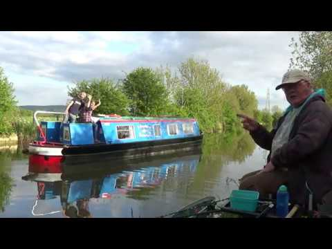 Canal Fishing With A Rod N Reel
