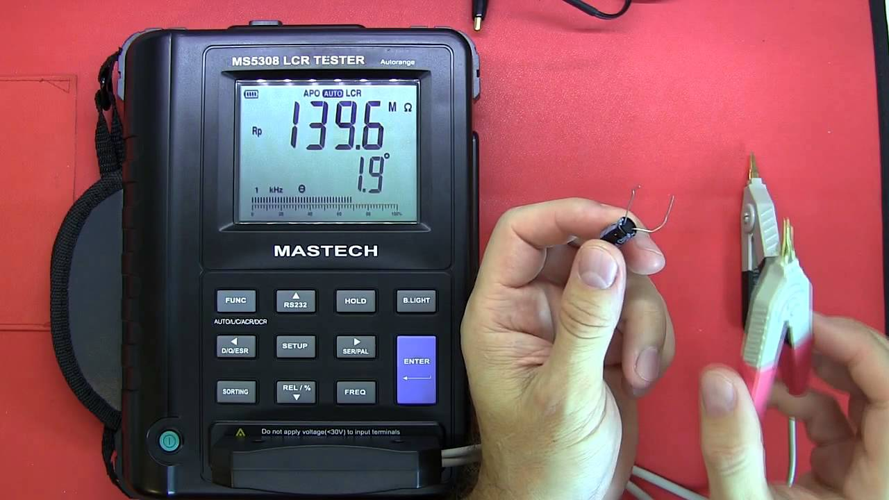 Review Mastech Ms5308 Lcr Tester Youtube Professional M4070 Handheld Bridge Capacitance Inductance Meter