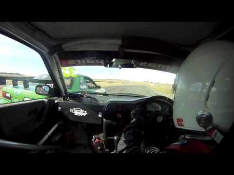 Geoff Fear SR20VE IPRA Wakefield Park rnd 1 race 2 2013