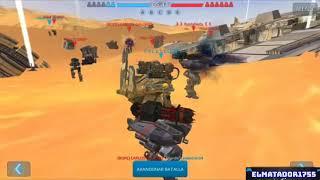War Robots/Test Server [3.2] Nuevos Robots-Nuevo Modo de Batalla