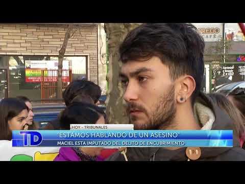 Familiares de Lucía Pérez se manifestaron en Tribunales