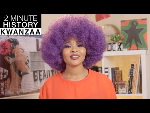 TWO MINUTE HISTORY | Kwanzaa